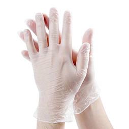 Перчатки виниловые неопудренные L 100шт (50пар)