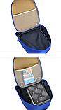 Рюкзак дитячий синій Зверополис, фото 2