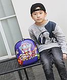 Рюкзак дитячий синій Зверополис, фото 5