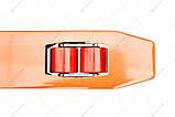 Рокла (гідравлічний візок) Leistunglift DF-30 (колеса поліуретан), фото 4