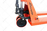 Рокла (гідравлічний візок) Leistunglift DF-30 (колеса поліуретан), фото 5