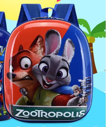 Рюкзак дитячий синій Зверополис