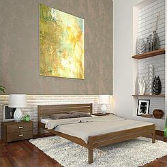 Кровать деревянная полуторная Роял