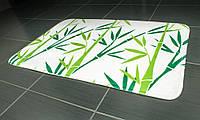 Коврик для ванной Tatkraft GREEN BAMBOO из микрофибры  с противоскользящим основанием 50x80 см (14954), фото 1