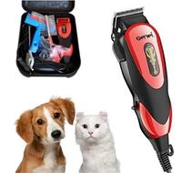 Машинка для стрижки кошек и собак Gemei GM-1023 Машинка для стрижки животных + Подарок! Лучший товар
