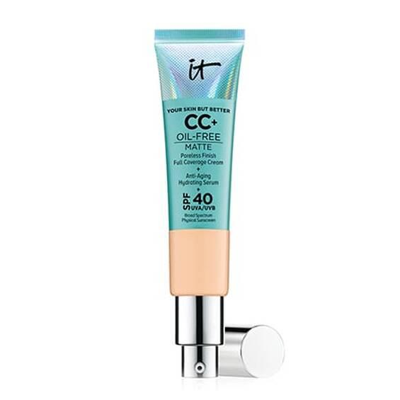 СС-крем IT Cosmetics Your Skin But Better CC+ Oil-Free Matte with SPF 40 UVA Medium