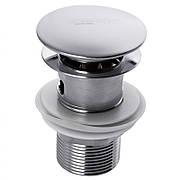 Донний клапан з переливом (кнопка) ZERIX LR65-2 (ZX2638)