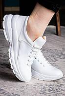 Жіночі білі кросівки в наявності. Розмір 36-41, фото 1