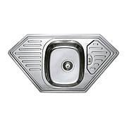 Мийка кухонна HAIBA 95x50 (satin) (HB0656)