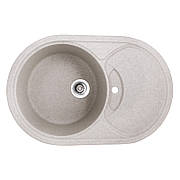 Мийка кухонна HAIBA HB8310-G322 BEIGE 780x500x220 (HB0978)