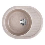 Мийка кухонна HAIBA HB8311-G319 SAND 570x450x180 (HB0981)