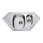 Мийка кухонна HAIBA 100x50 (polish) (HB0523)