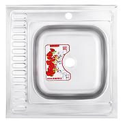 Мийка кухонна ZERIX Z6060R-06-160MD (dekor) (ZS0589)
