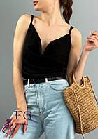 Літня блуза - топ на бретелях 031 В/02, фото 1