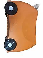 Дитяча Валіза на 4 коліщатках Trunki / Транки оранжевий з ріжками колір на 18 л. +УЦІНКА