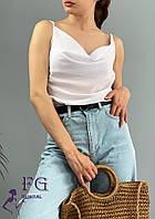 Летняя блуза - топ на бретелях  031 В/03, фото 1