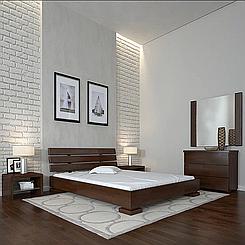 Кровать деревянная полуторная Премьер