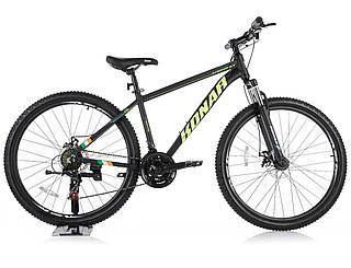 Велосипед KONAR 27.5″17#, алюминиевая рама 17, колеса 27.5 дюймов, черный