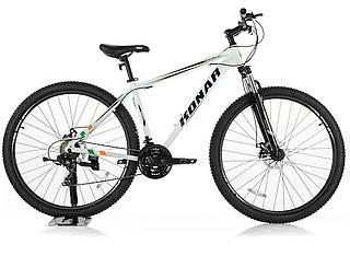 Велосипед KONAR KA-29″19# 24S, алюминиевая рама 19, колеса 29 дюймов, белый