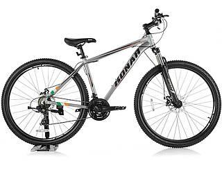 Велосипед KONAR KA-29″19# 24S, алюминиевая рама 19, колеса 29 дюймов, серый
