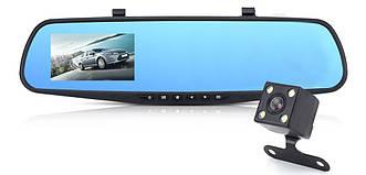 """Автомобильный видеорегистратор зеркало BlackBox DVR L9000 с камерой заднего вида 3,5"""" (4844)"""