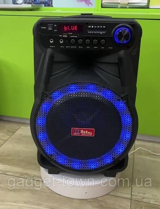 Колонка аккумуляторная Sky Sound-7171 12 дюймов с радиомикрофоном 180W (USB/FM/Bluetooth/TWS)