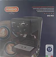 Рожковая кофеварка эспрессо Magio MG-962