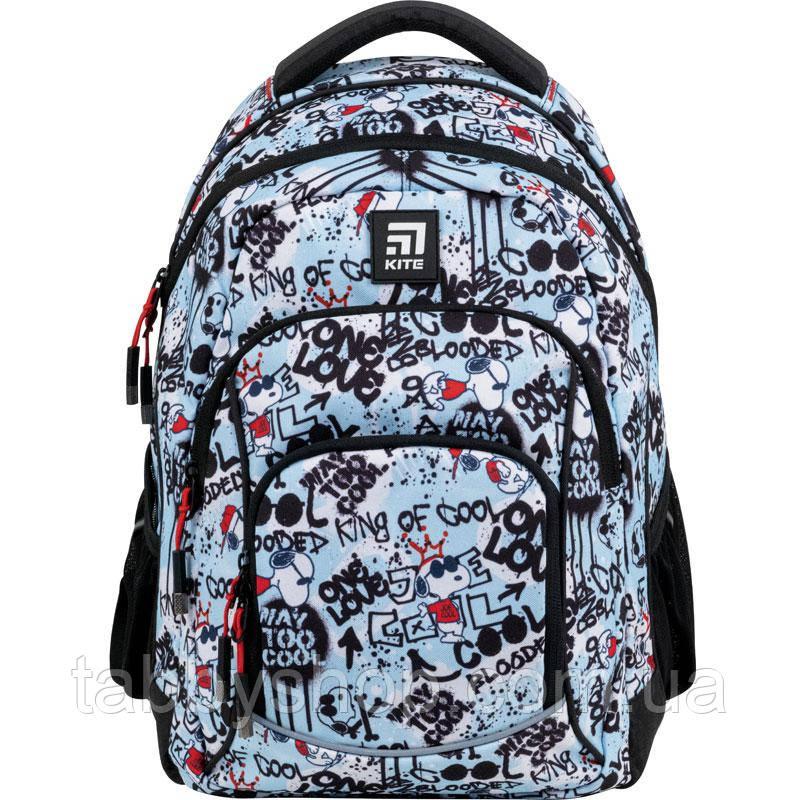 Рюкзак шкільний KITE Education 814M Peanuts Snoopy