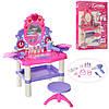 Детский туалетный столик трюмо для девочки Limo Toy M 0395 U/R со стульчиком звук свет аксессуары