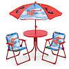 Детский столик с двумя стульчиками и зонтиком Bamby 93-74-SP Spider Man Человек паук