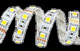 Светодиодная LED лента 5 метров с пультом RGB. Цветная лед лента, фото 3