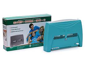 Ионизатор очиститель воздуха Супер Плюс ЭКО-С зеленый озонатор