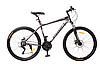 Алюминиевый велосипед горный MTB G26PHANTOM A26.1 SHIMANO колеса 26 дюймов/ цвет темно-серый(матовый)**