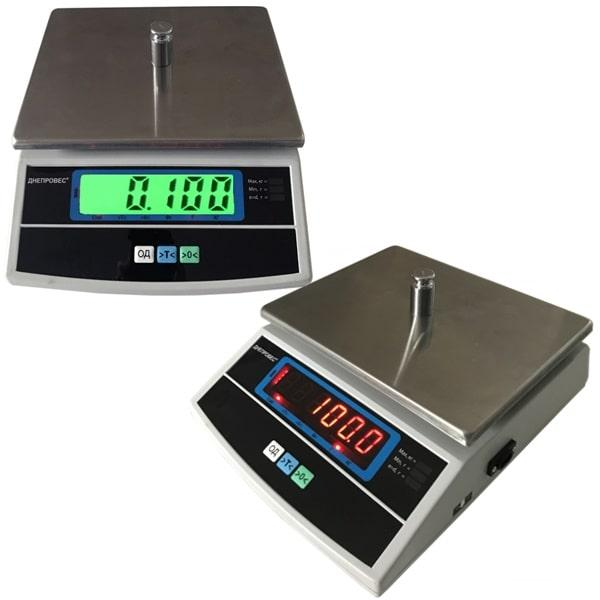 Ваги фасувальні Днепровес ВТД-Т3Е/Т3С (6 кг)