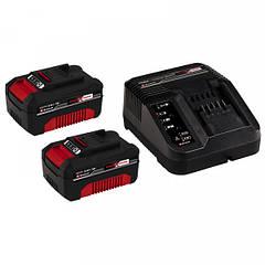 Аккумуляторы+зарядное Einhell Starter Kit 18V 3 А/ч.