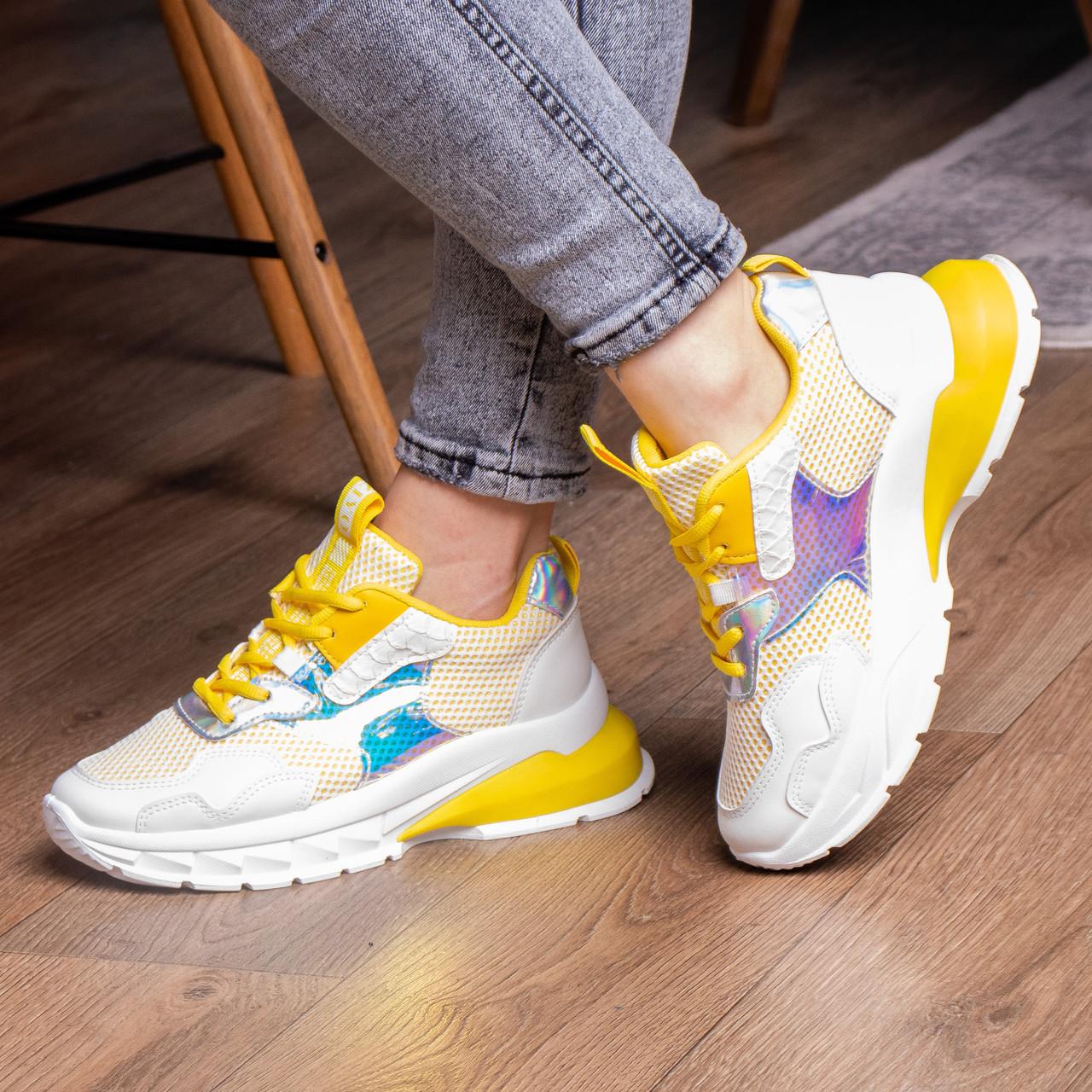 Кросівки жіночі Fashion Coojo 2237 36 розмір 23 см Білий