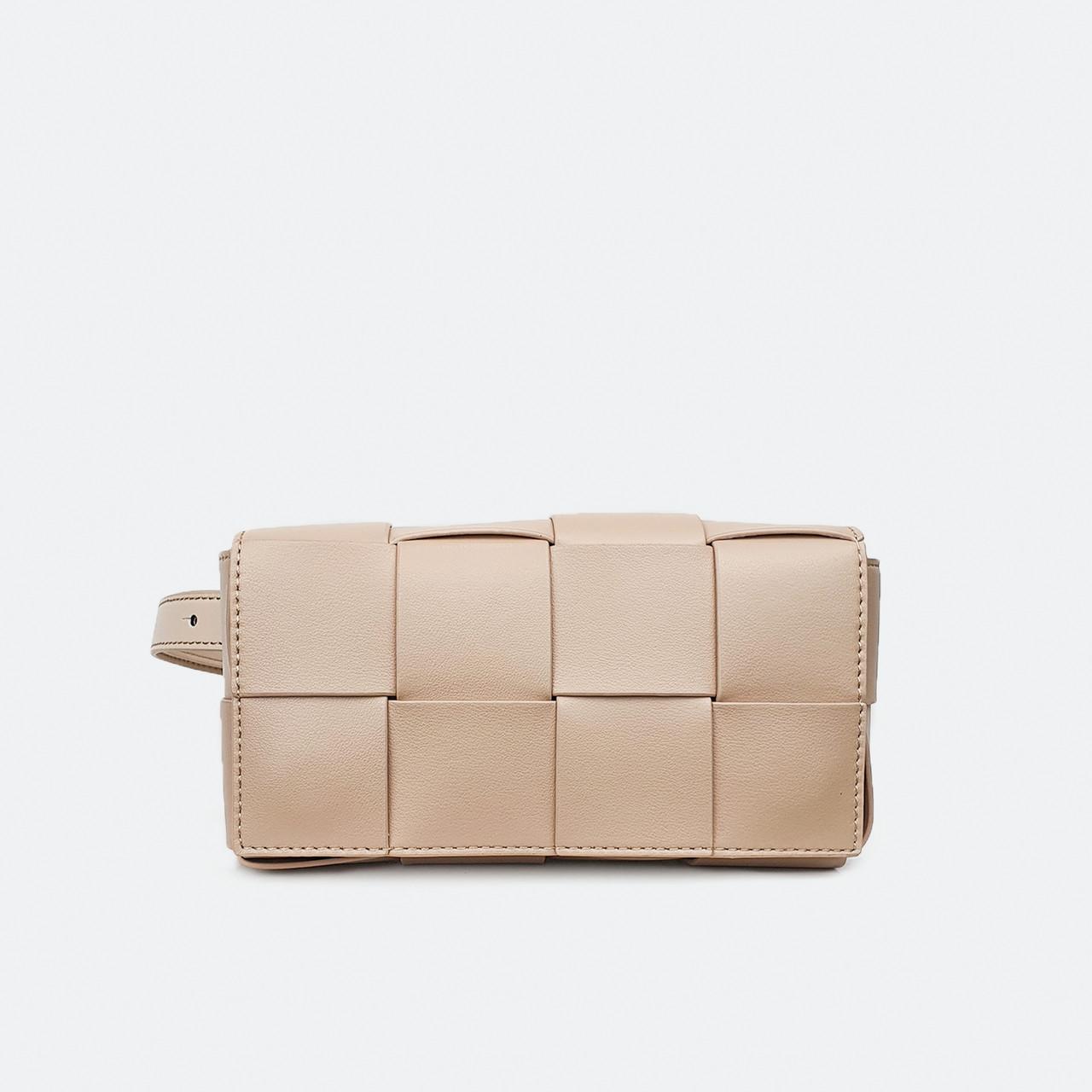 Бежевая сумка на пояс маленькая Fashion 321BV