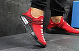 Чоловічі кросівки Adidas NMD Human RACE червоні, фото 6