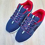 Чоловічі кросівки Puma Hybrid Racer сині з червоним, фото 4