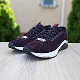 Чоловічі кросівки Puma Hybrid чорні з червоним, фото 2