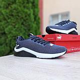 Чоловічі кросівки Puma Hybrid сірі, фото 5