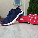 Мужские кроссовки Puma Hybrid Синие с красным, фото 2