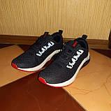 Мужские кроссовки Puma Hybrid Синие с красным, фото 5