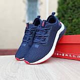 Мужские кроссовки Puma Hybrid Синие с красным, фото 6