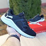 Мужские кроссовки Puma Hybrid Racer черные на белой, фото 3