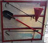 Пожарный щит металлический навесной ( с оборудованием), фото 2