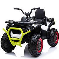 Детский электро квадроцикл электромобиль XMX607 колеса EVA цвет зеленый
