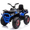 Дитячий електро квадроцикл електромобіль XMX607 колеса EVA колір синій