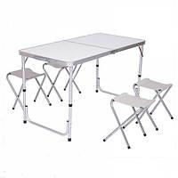 Стол и стулья для пикника Folding Table Белый