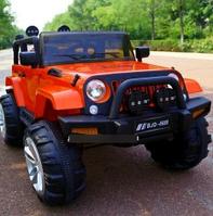 Детский электромобиль на управлении Джип 4WD T-7847 на EVA колесах с MP3 / красный